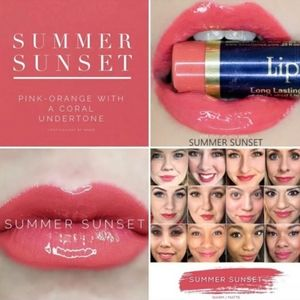 SeneGence Makeup - Senegence Lipsense in Summer Sunset
